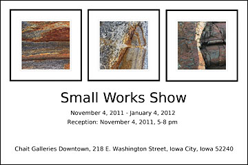 Small Works Show postcard